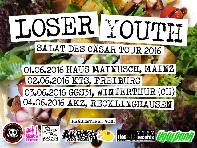 Loser Youth Tourflyer